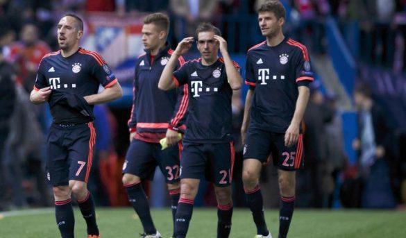 بايرن ميونيخ بعد مواجهة أتلتيكو مدريد