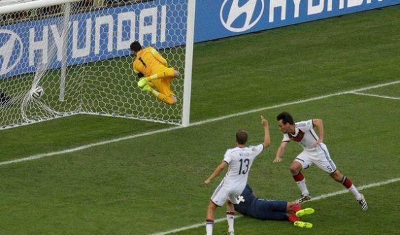 هدف ماتس هوميلس في فرنسا بكأس العالم 2014
