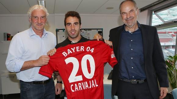ليفركوزن بإنتظار قرار ريال مدريد فيما يتعلق بكارفاخال