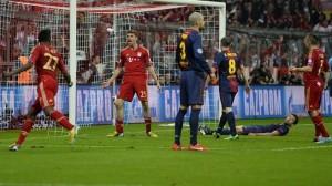 ذهاب نصف النهائي: بايرن ميونخ 4-0 برشلونة