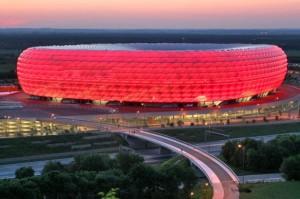 اليانز أرينا معقل بايرن ميونخ يترشح بجانب ملعب برلين لإستضافة بعض مباريات أمم أوروبا 2020