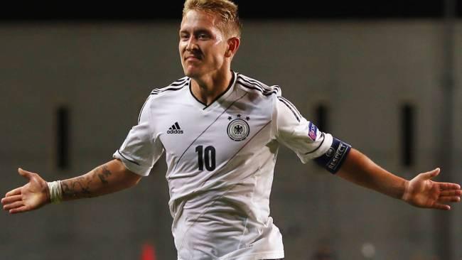 لويس هولتبي قائد المنتخب الألماني تحت الـ21 عام