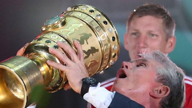 يوب هاينكس أصبح إسطورة خالدة في كرة القدم عقب التتويج بالثلاثية التاريخية
