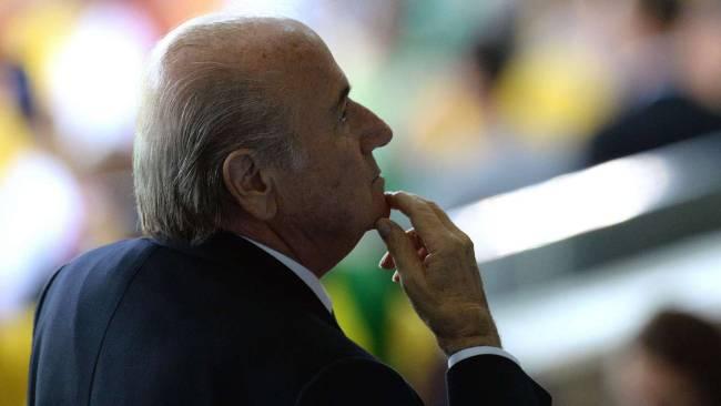 جوزيف بلاتر يرغب بإقامة مونديال 2022 بالشتاء