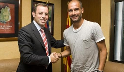 رئيس برشلونة يتهم روسيل بالكذاب