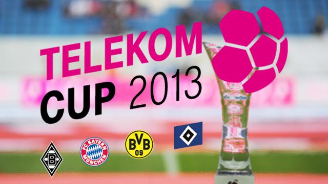 كأس تيليكوم تُقام بين أربعة عمالقة من الدوري الألماني