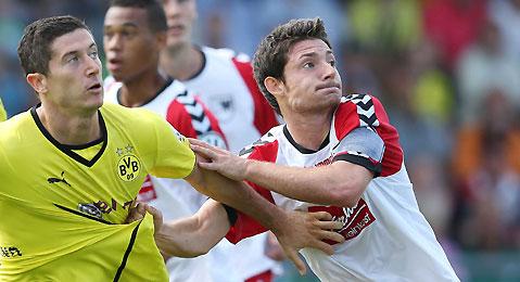دورتموند يتأهل إلى الدور الثاني من كأس المانيا