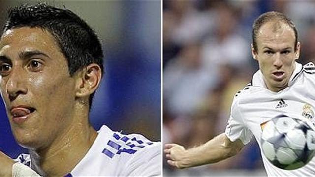 تقريراً يؤكد رغبة إدارة ريال مدريد في بيع ثنائي الفريق أنخيل دي ماريا وفابيو كوينتراو.