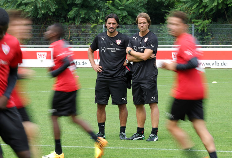 Training VfB Stuttgart