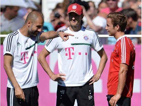 غوتزه قد يشارك أمام نوتينغن في كأس المانيا