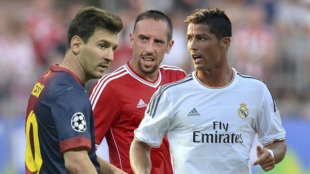 ريبيري يفوز بجائزة أفضل لاعب في أوروبا 2012/2013