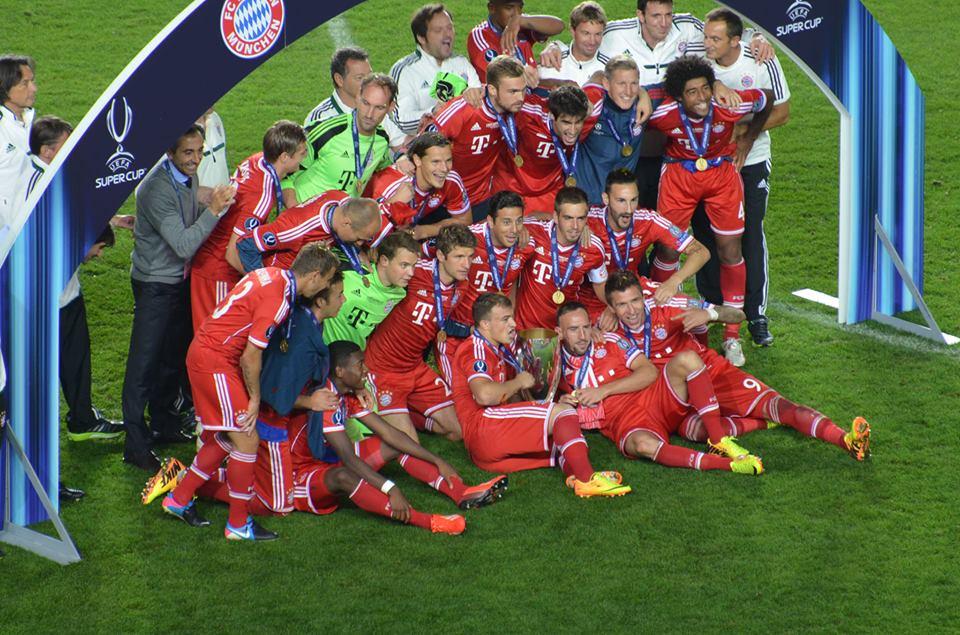 بايرن بطل كأس السوبر الأوروبي 2013
