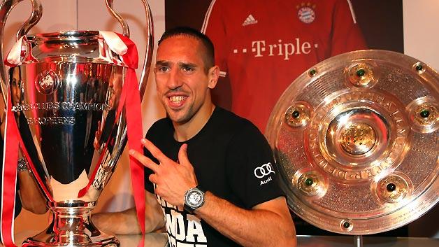 ريبيري يأمل في الحصول علي لقب أفضل لاعب في أوروبا