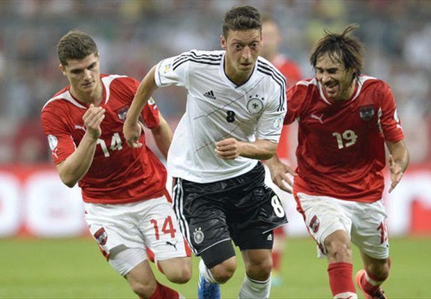 مسعود اوزيل يصرح بعد مباراة النمسا بأن المانيا ارتهم من هو الزعيم