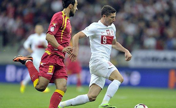 ليفا مع المنتخب البولندي