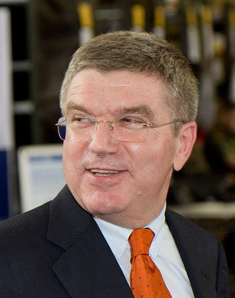 توماس باخ رئيس اللجنة الأوليمبية الجديد
