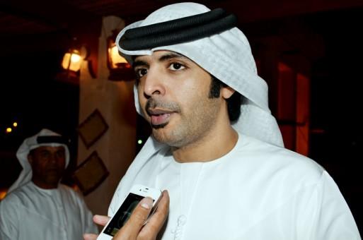 فارس عوض في دبي الرياضية