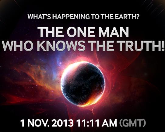 لأول مرة.. فاليترقب العالم.. سيظهر الفضائي وسيتحدث عما سيحدث للأرض!