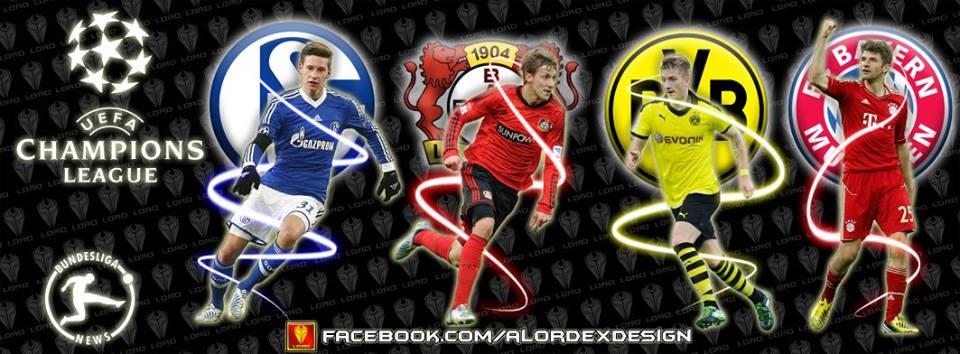 الفرق الألماني بدوري أبطال أوروبا