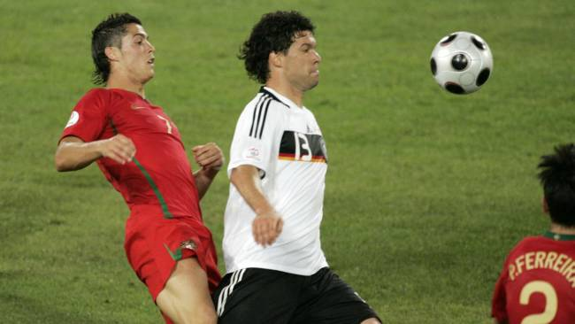 رونالدو قلق من الوقوع مع المانيا