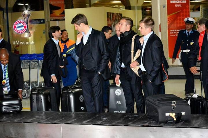 وصول فرق بايرن ميونخ إلى أغادير