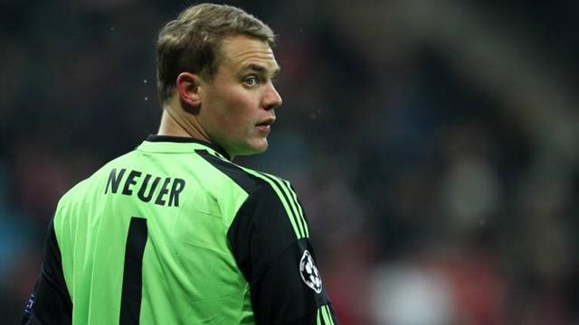 نوير قد يغيب عن نصف نهائي كأس المانيا