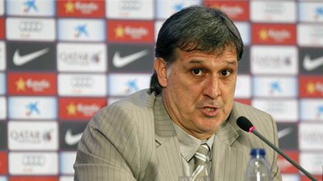 """مدرب برشلونة """"تاتا"""" يثق بقدرة برشلونة على حصد اللقب"""