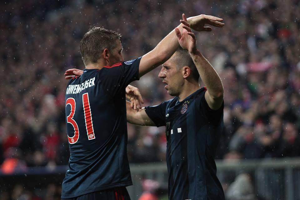 بايرن ميونخ بدون شفاينشتايغر وريبيري في نهائي كأس المانيا