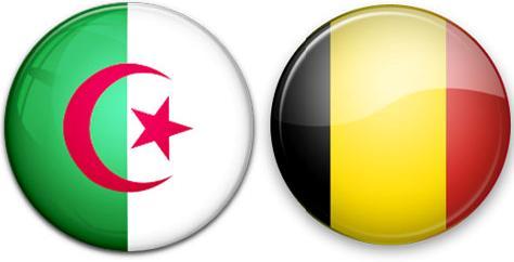 بلجيكا-و-الجزائر