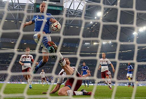 هوفيديس لحظة تسجيل هدف التعادل أمام شالكة!