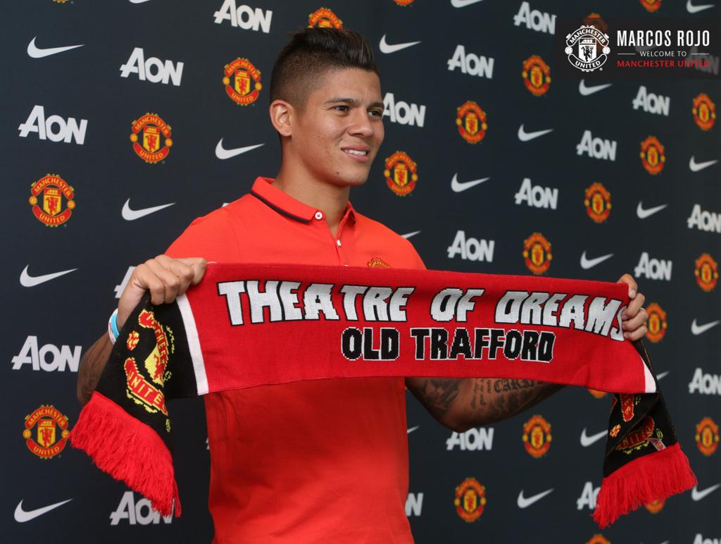 marcus rojo official