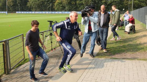ميركو سلومكا يغادر تدريبات نادي هامبورغ