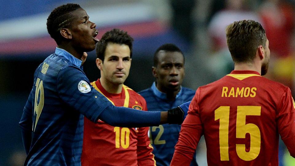 فرنسا في مواجهة اسبانيا ودياً