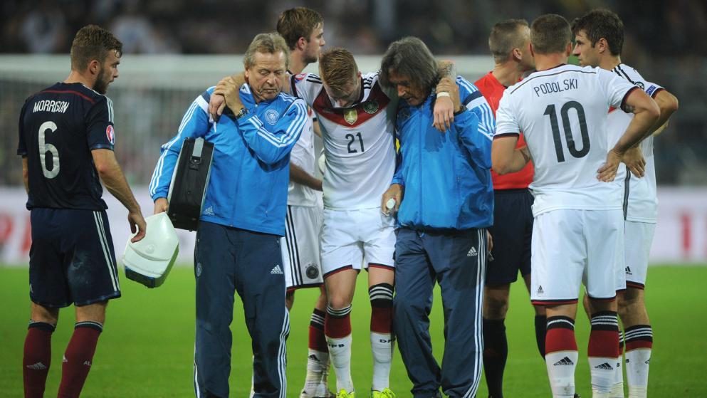 يواكيم لوف يطمئن جماهير المنتخب الألماني بعد إصابة ماركو رويس