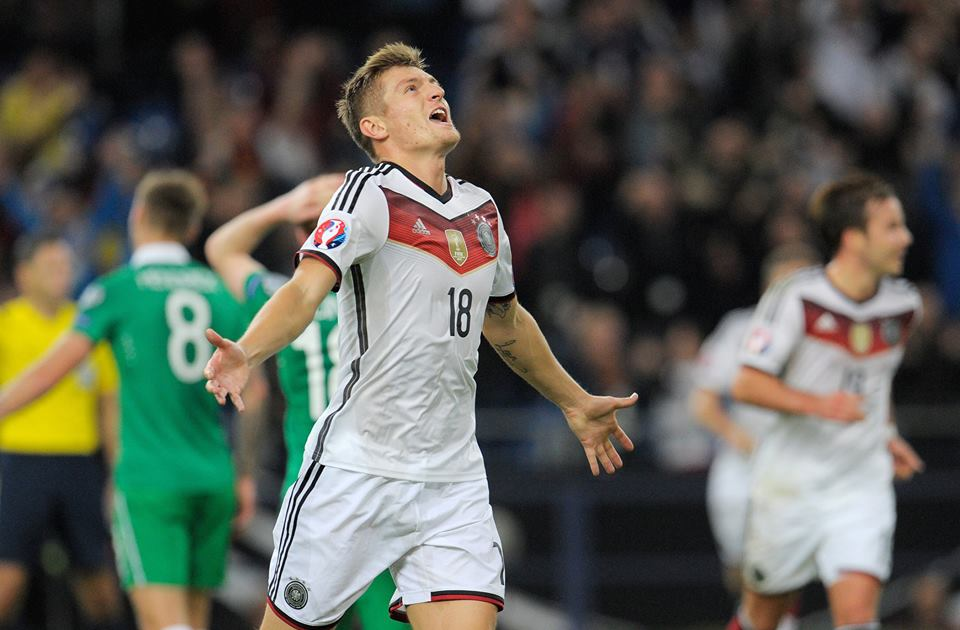 تعادل المنتخب الألماني والإيرلندي بهدف لهدف