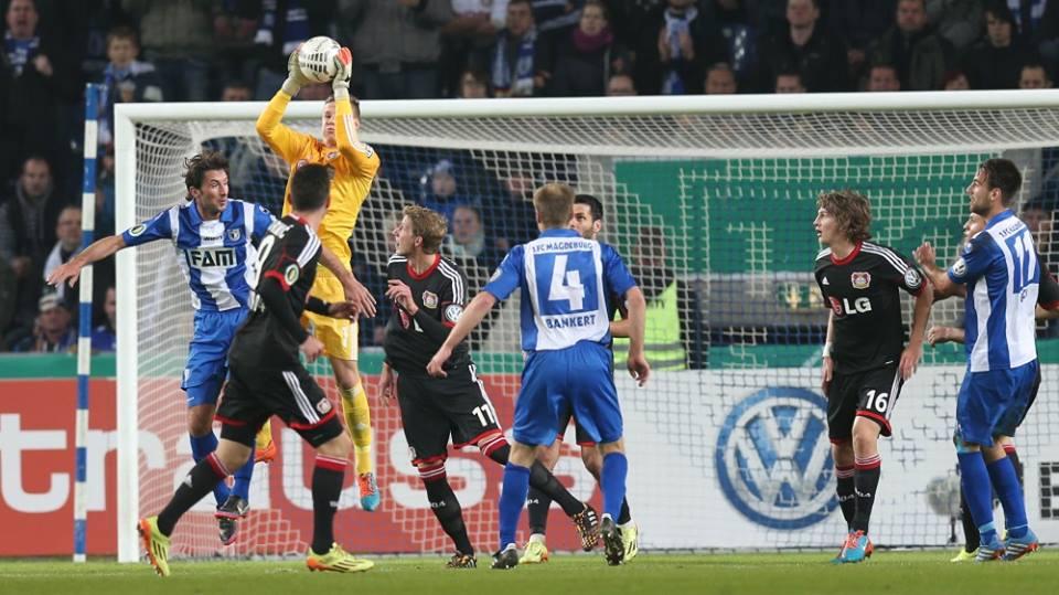 ليفركوزن يتأهل لدور الستة عشر من كأس ألمانيا بصعوبة