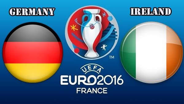 التشكيلة المتوقعة لمباراة ألمانيا وإيرلندا