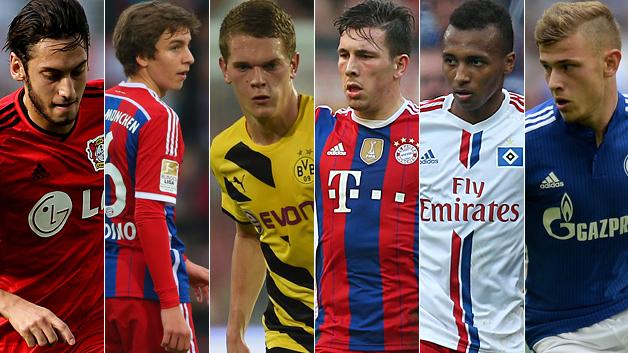 6 لاعبين من الدوري الألماني مرشحين للفوز بجائزة الغولدن بوي