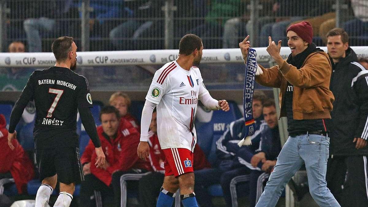 هامبورغ يعتذر لريبيري بعد حادثته مع المشجع الأحمق