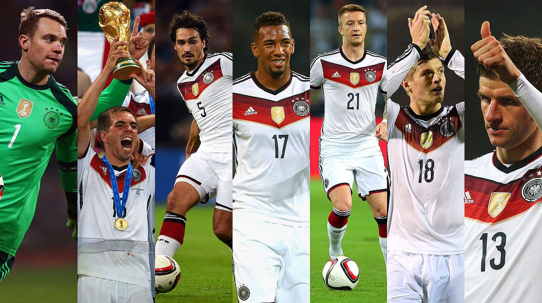 6 لاعبين المان مرشحين لفريق العام