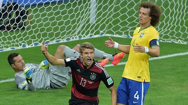 المانيا أمام البرازيل