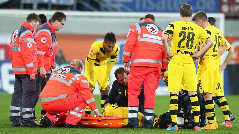 ماركو رويس تعرض للإصابة أمام بادربورن