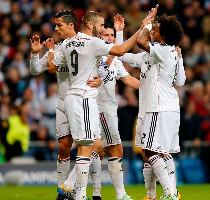 ريال مدريد يحقق الفوز الرابع له بدوري أبطال أوروبا هذا الموسم