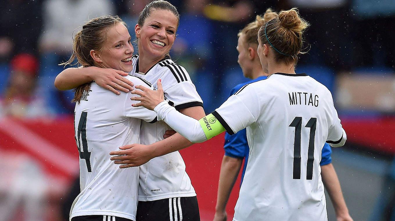 منتخب المانيا النسوي يتصدر القائمة العالمية للمنتخبات