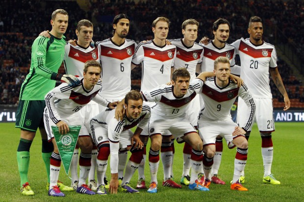 المانيا تنهي عام 2014 بالصدارة العالمية