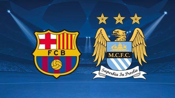 برشلونة في مواجهة مانشستر سيتي
