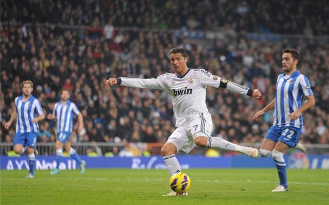 ريال مدريد في مواجهة ريال سوسيداد في الدوري الإسباني