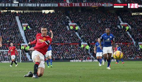مانشستر يونايتد يثأر من ليستر سيتي