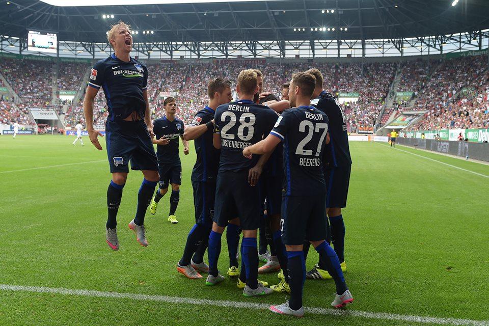 فريق العاصمة هيرتا برلين يتغلب على أوغسبورغ بهدف نظيف