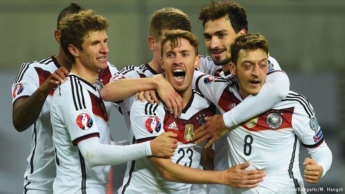 صورة من مباراة ألمانيا وجورجيا